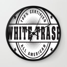 White Trash PRIDE Wall Clock