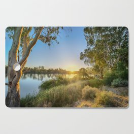 River Sunrise Cutting Board