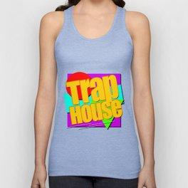 Trap House Square Logo Unisex Tank Top