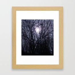 joy rising.  Framed Art Print