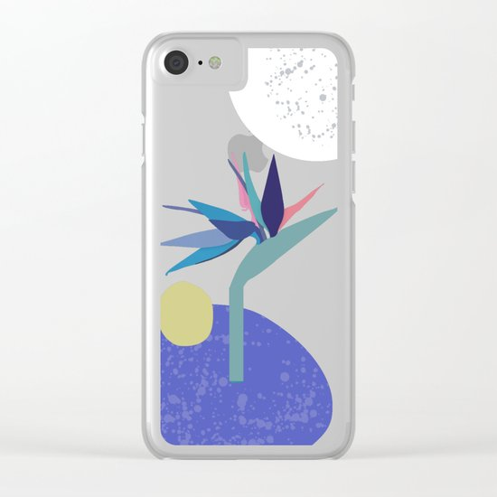 Return from Paradise Clear iPhone Case
