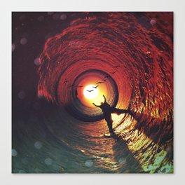 Sun Seeker's Return Canvas Print