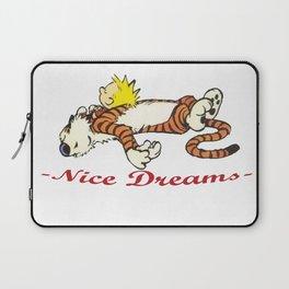 Calvin And Hobbes Sleep Laptop Sleeve