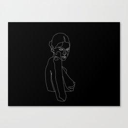 Cold Shoulder Canvas Print
