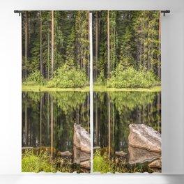 Quiet Forest lake Blackout Curtain