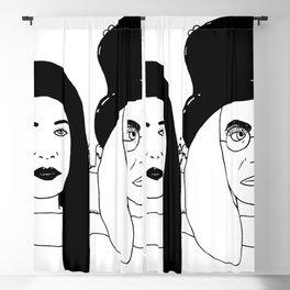 Two Weirdos in a Pod Blackout Curtain