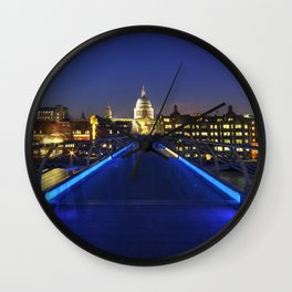 London City Skyline  Wall Clock