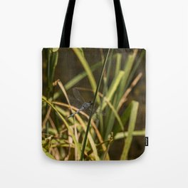 Dragonfly in the marsh Tote Bag