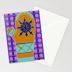 Cozy Up, Winter Cover Stationery Cards