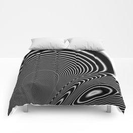 Fractal Op Art 6 Comforters