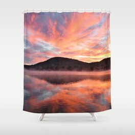 Sunrise: Fire and Water Shower Curtain