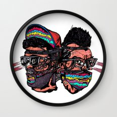 Bass Brothers Wall Clock