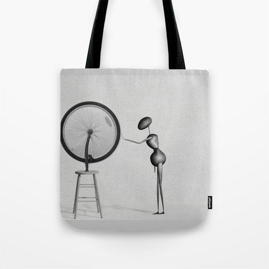 AntWoman & Duchamp's wheal Tote Bag