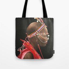African Portrait III Tote Bag