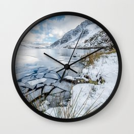 Broken Water Wall Clock