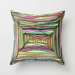 Boxy Bright Throw Pillow