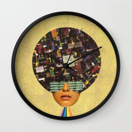 Rhythm is funky Wall Clock