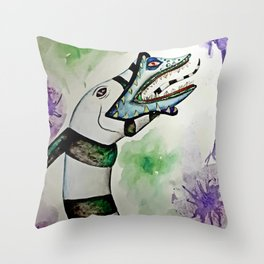 Sandworm Throw Pillow