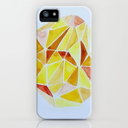 cuarzo amarillo iPhone Case