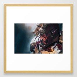 The Invincible Iron Man Framed Art Print