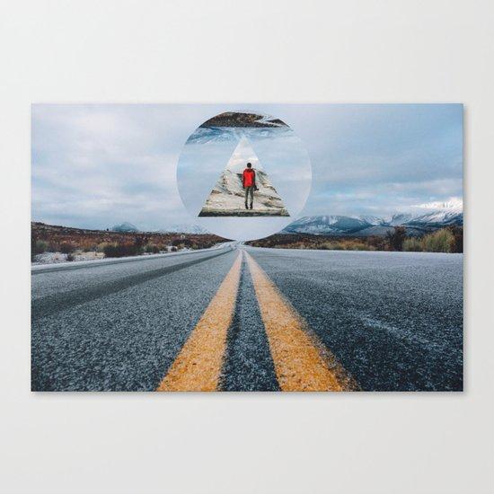 the road so far... Canvas Print