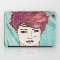 exo iPad Cases featuring Exo Kai by Isaacson1974
