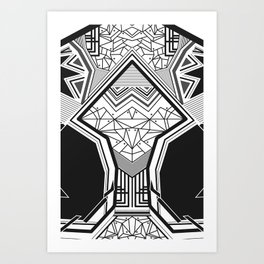 Geokoi Art Print