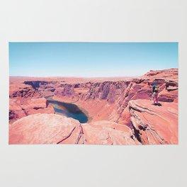 Desert at Horseshoe Bend, Arizona, USA Rug
