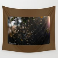 bugs Wall Tapestries featuring Bugs by Dora Birgis