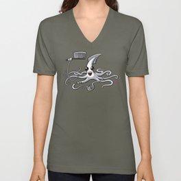 Calamari Master Unisex V-Neck