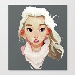 Taeyeon Canvas Print