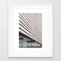 bands Framed Art Prints featuring Marble bands by Alfani Photography