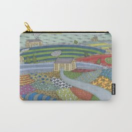 island patchwork Carry-All Pouch