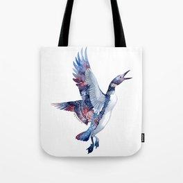 Nebular Loon Tote Bag