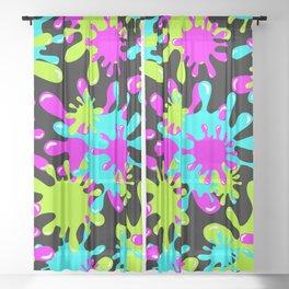 My Slime Sheer Curtain