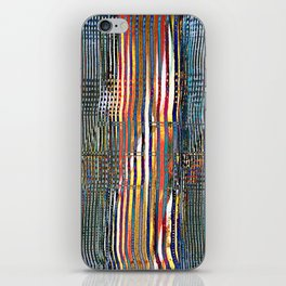 Combed Texture I iPhone Skin