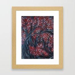 Holding Autumn Framed Art Print
