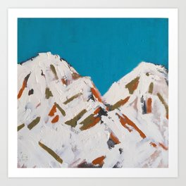 The Mountain 2016 Art Print