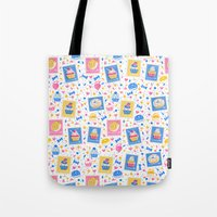 cupcakes Tote Bags featuring Cupcakes by Hui_Yuan-Chang