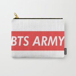 BTS ARMY red Carry-All Pouch