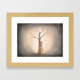 My Last Tree Framed Art Print