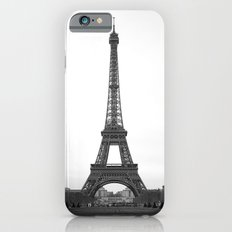 Eiffel Tower in black and white Slim Case iPhone 6s