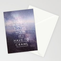 To The Moon Stationery Cards