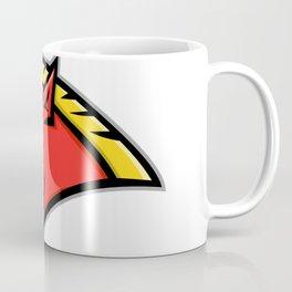 Angry Razorback Mascot Coffee Mug