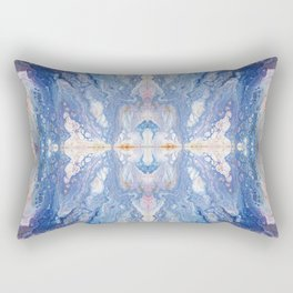 Colorful Water Splash Exotica by annmariescreations Rectangular Pillow