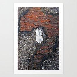 Her Secret Past Art Print