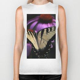 Resting Monarch Butterfly Biker Tank