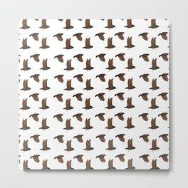 starlings Metal Print