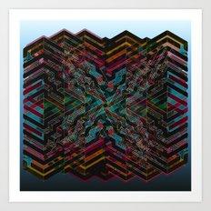 Intropolis Art Print