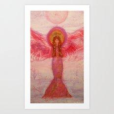 Rose the Angel of Hope Art Print